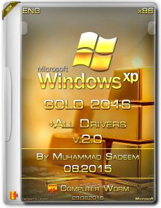 Gold Windows XP SP3 2016 + Drivers v2.0