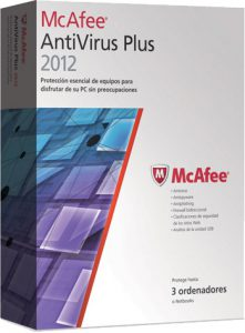 McAfee AntiVirus Plus – 2012
