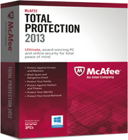 Mcafee Total Protection – 2013